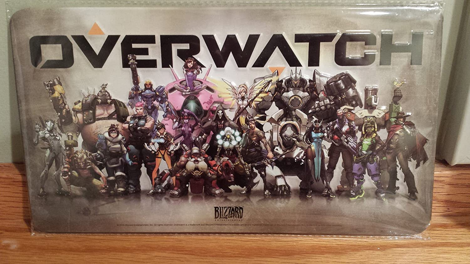 Blizzard Entertainment Overwatch Collectible Metal Art Plate