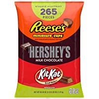 Hershey's 265-Pieces 5 Pound Chocolate Candy Assortment