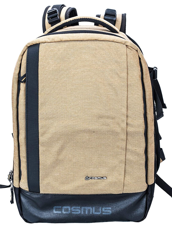 Cosmus Essen Anti-Theft DSLR Camera Backpack (Khaki)
