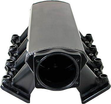 Top Street Performance 81001BK Black Finish Fabricated Intake Manifold
