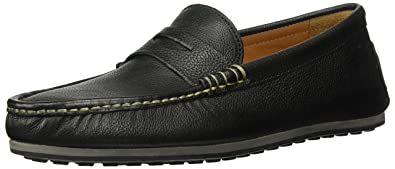 1dd33833bdd Allen Edmonds Men s Turner Penny Driving Style Loafer Black Grain 7 ...