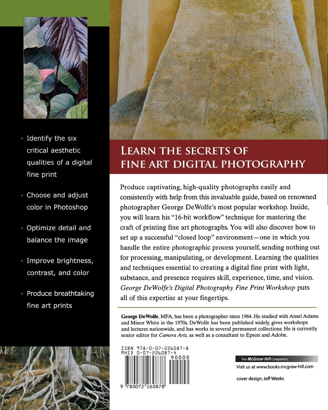 George DeWolfe's Digital Photography Fine Print Workshop by McGraw-Hill Education