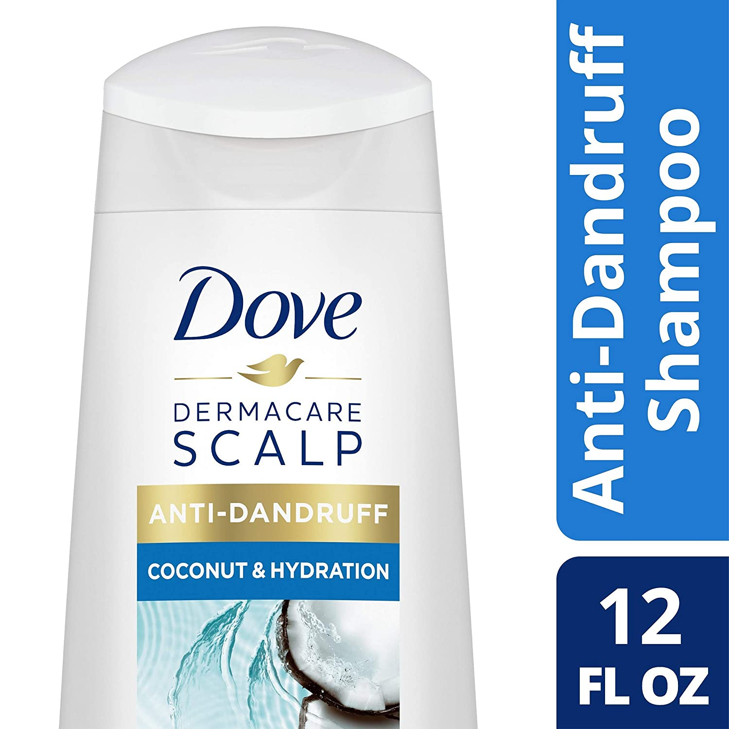 Dove DermaCare Scalp Coconut & Hydration Anti-Dandruff Shampoo 12 oz