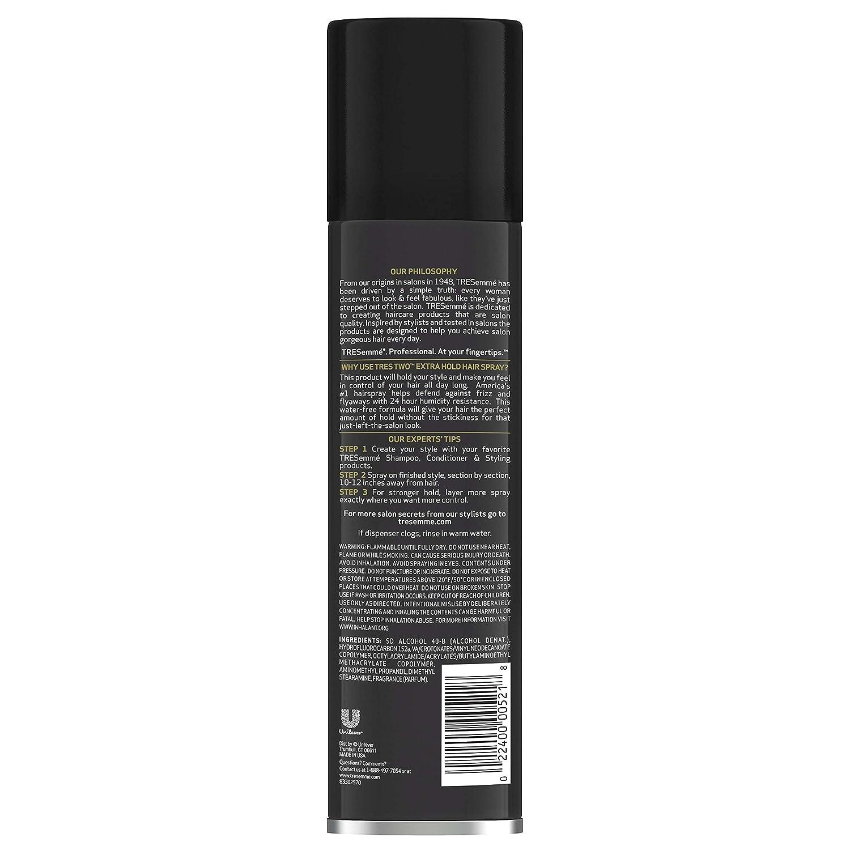 Tresemme u-hc-2055 tres Two Extra Hold Extra Firm Control Laca para el cabello: Amazon.es: Belleza