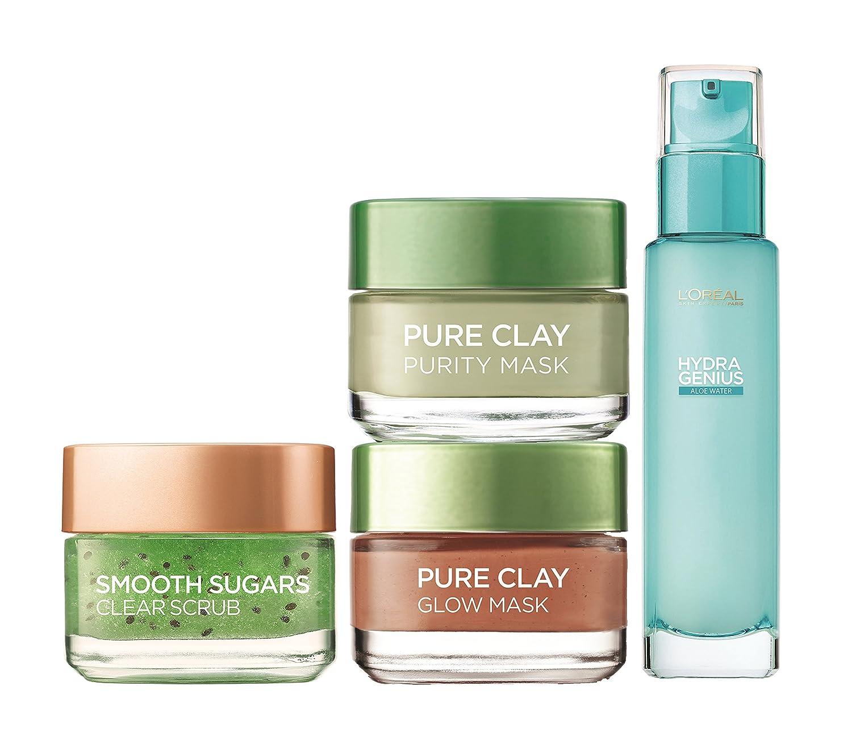 L'Oréal Paris Smooth Sugar Exfoliant visage et lèvres à base de cacao, 50ml L' Oreal 3600523541935