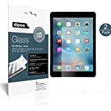 Apple iPad Air / Air 2 / Pro 9.7 Protector de Pantalla mate - 2x dipos Vidrio Flexible Cristal Proteccion 9H