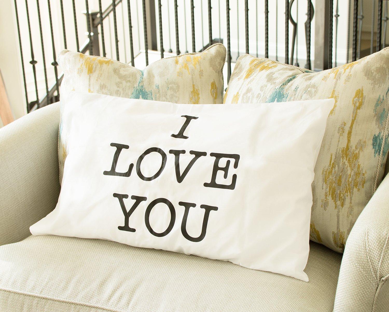 Amazon.com: Super Z Outlet I Love You & Love You More Cotton ...
