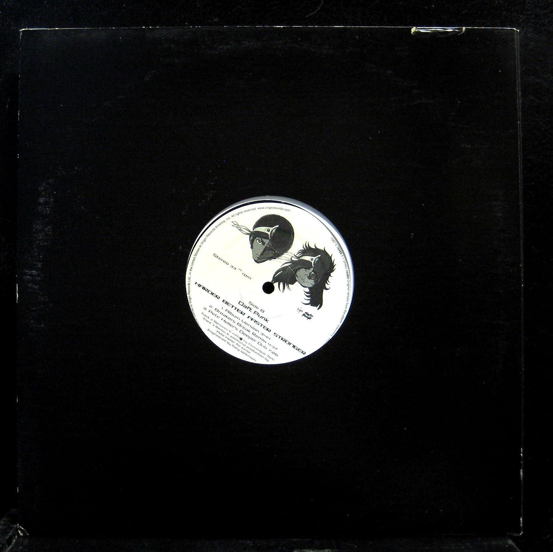 Daft Punk - Daft Punk Harder Better Faster Stronger vinyl record -  Amazon.com Music