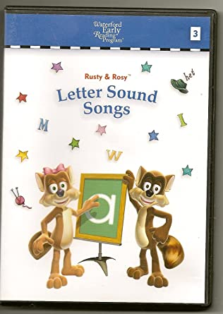 Amazoncom Rusty Rosy Letter Sound Songs Waterford Early Reading