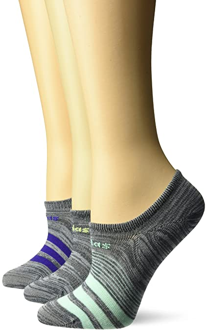 82aefe9d58791 Amazon.com  adidas Women s Superlite Super No Show Socks (3-Pack ...