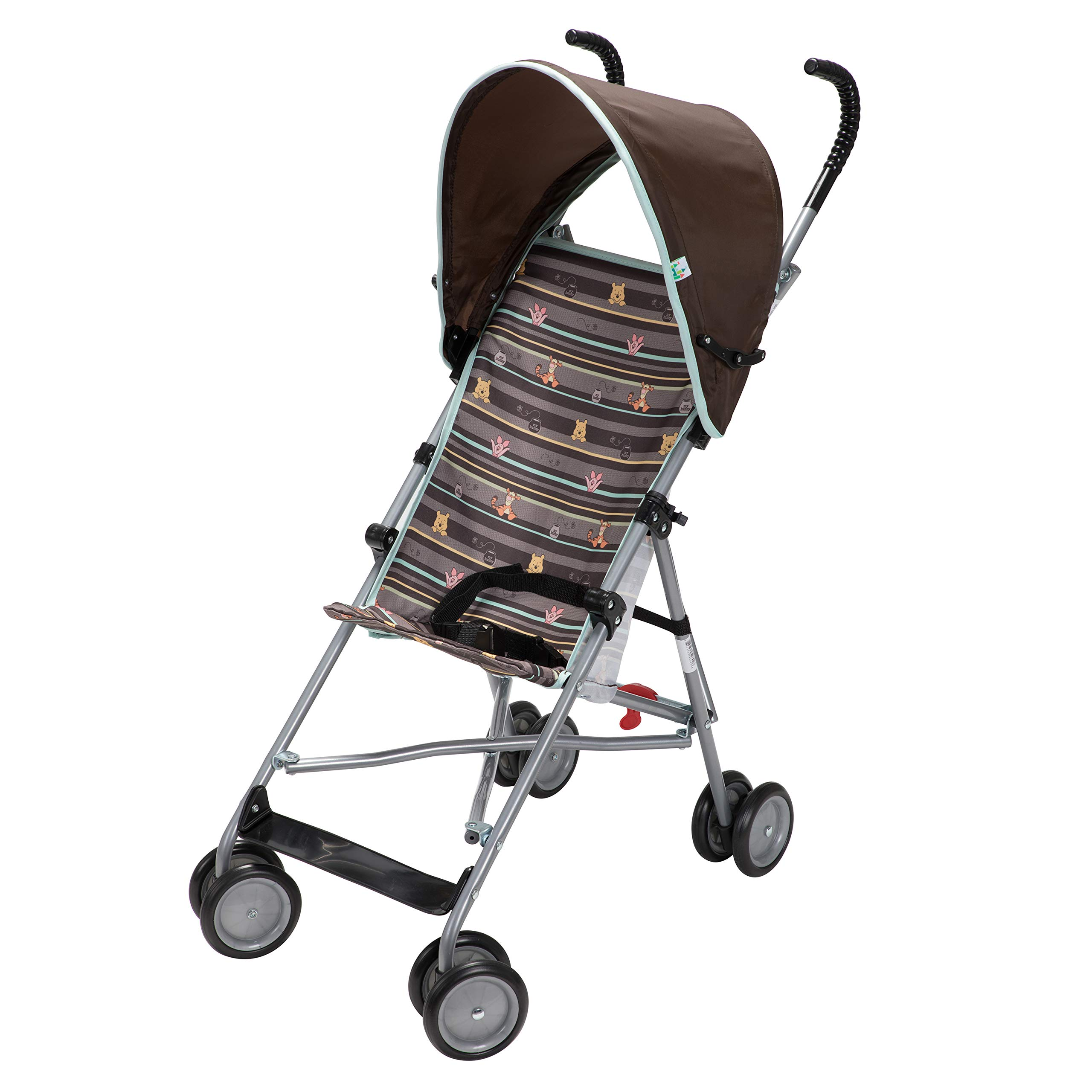 Disney Baby Winnie-the-Pooh Umbrella Stroller with Canopy (My Hunny Stripes) by Disney (Image #6)
