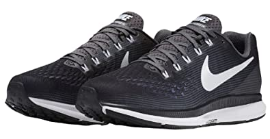 finest selection 76741 0a39a Nike Air Zoom Pegasus 34 TB Turbo Running Shoe, Black/White-Dark Grey, 10