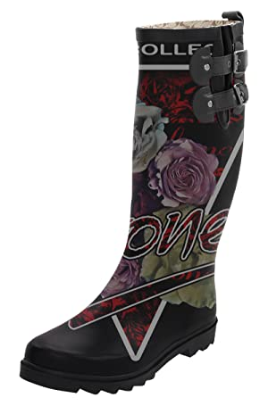 Raboinot Deftones The Vinyl Collection Women Rain Boot Waterproof Rain Wear