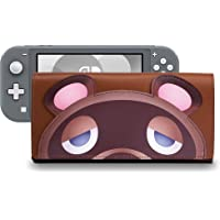 Funlab Leather Carrying Case for Nintendo Switch Lite,Portable Ultra Slim Clutch with Game Card Holder for Animal…