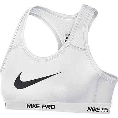 sports shoes 4871d 280bd Nike Kids Girl s YA Hypercool Pro Bra (Little Kids Big Kids) White