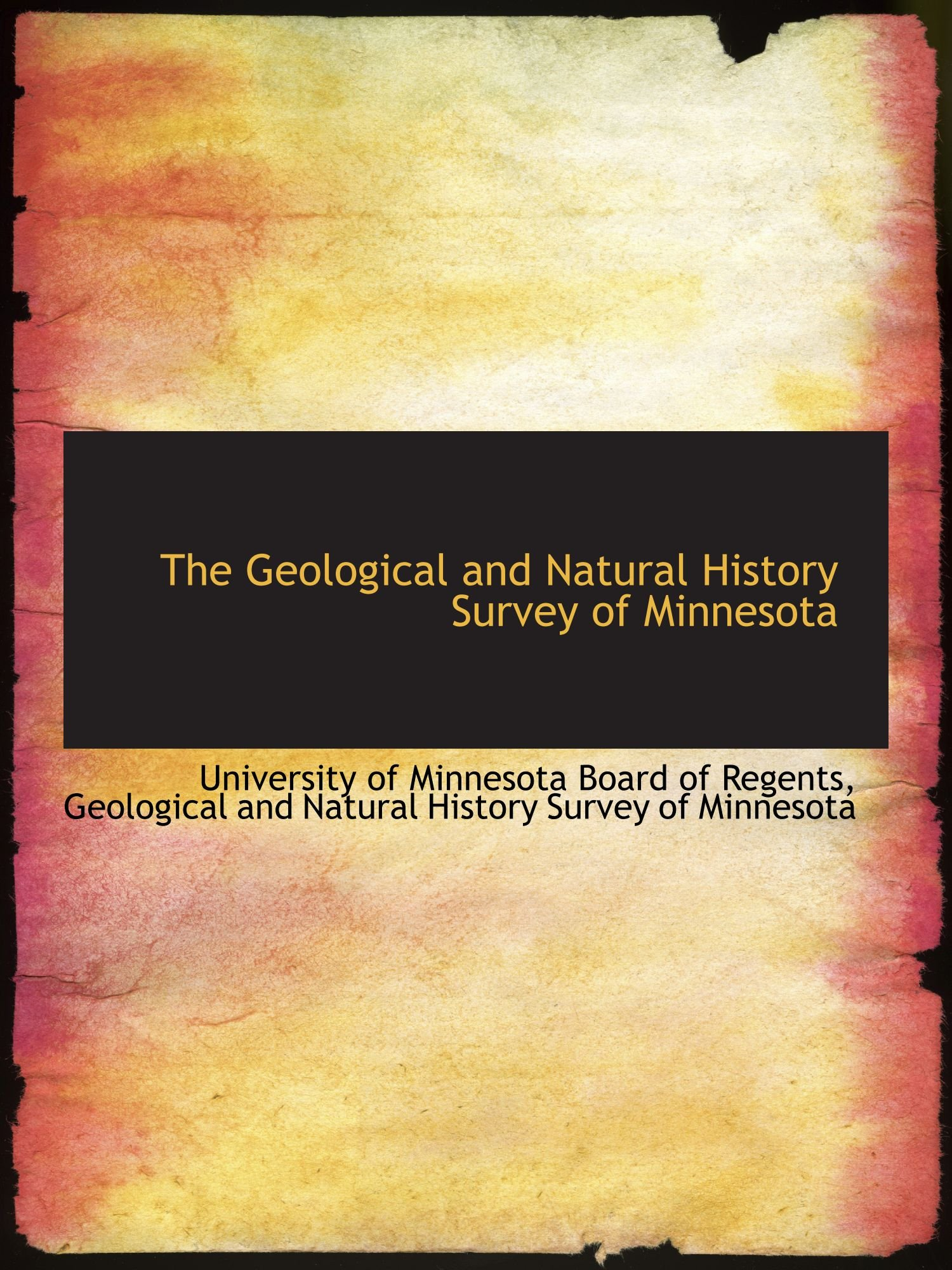 The Geological and Natural History Survey of Minnesota pdf