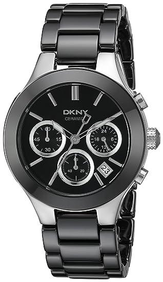 DKNY Reloj analogico para Mujer de Cuarzo con Correa en Acero Inoxidable NY4914: Dkny: Amazon.es: Relojes