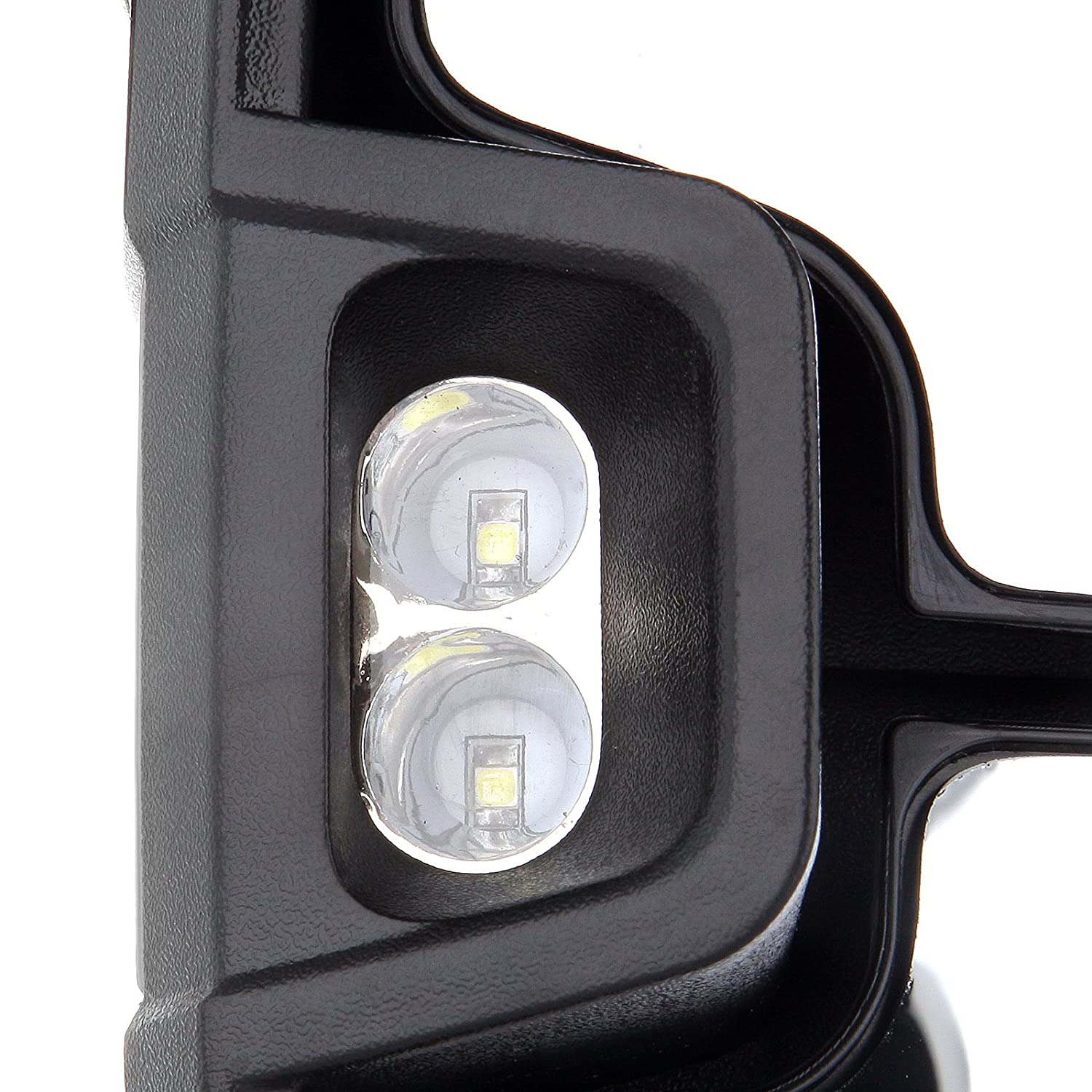 amazon scitoo tow mirrors fit 2007 2014 chevy gmc towing door Replacement Mirror for Chevy Silverado amazon scitoo tow mirrors fit 2007 2014 chevy gmc towing door side mirrors power heated led smoke signal l s pair pair towing mirrors automotive