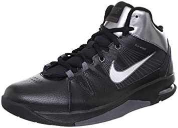 best loved 9554e 85752 Nike Men s AIR Flight JAB Step Basketball Shoes 12 (Black Mtllc SLVR MTLC
