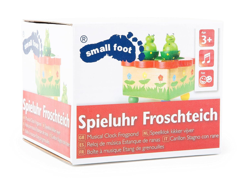 Spieluhr Froschteich Holzspielzeug Small Foot Company 7541
