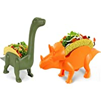 Herd Pack Grubkeepers by Penko (Pack of 2) Dinosaur Taco Holder Ultrasaurus and Triceratops (Each Holds 2 Tacos) 4 Tacos…