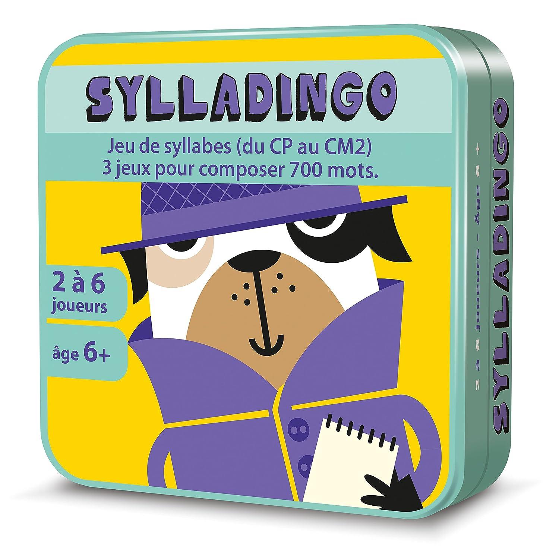 Aritma - SyllaDingo - Jeux de cartes, Vocabulaire Orthographe ASMODEE CGSYLL01