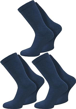 3 o 6 pares de calcetines, muy anchos, sin goma, aptos tambié