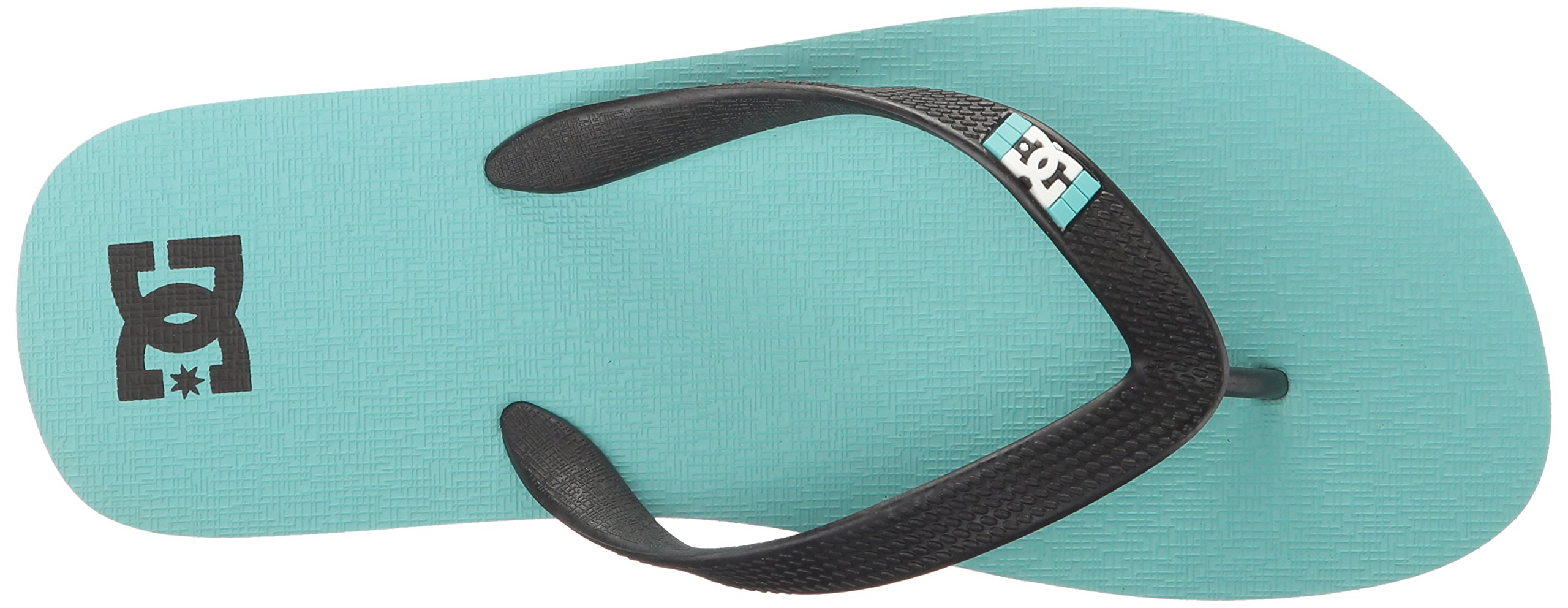 DC Girls' Spray Flip Flop, Turquoise, 6 M US Little Kid by DC (Image #8)