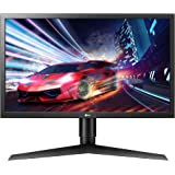 LG 24GL650-B 24 Inch Full HD Ultragear Gaming Monitor with FreeSync 144Hz Refresh Rate and 1ms Response Time, Black