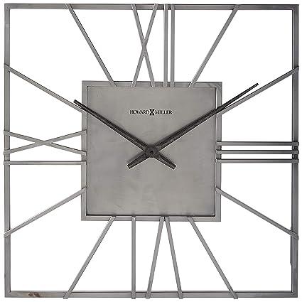 Amazon Com Howard Miller 625 611 Lorain Wall Clock Home Kitchen