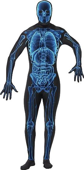 SmiffyS 21622L Disfraz Hombre Radiografía Segunda Piel Con Traje ...