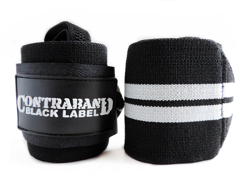 Contraband Black Label 1001 Wrist Wraps in Light//Medium//Heavy//Extreme Strength