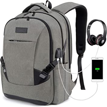 Laptop Backpack for Men Women Back Pack Waterproof College Computer daypacks USB