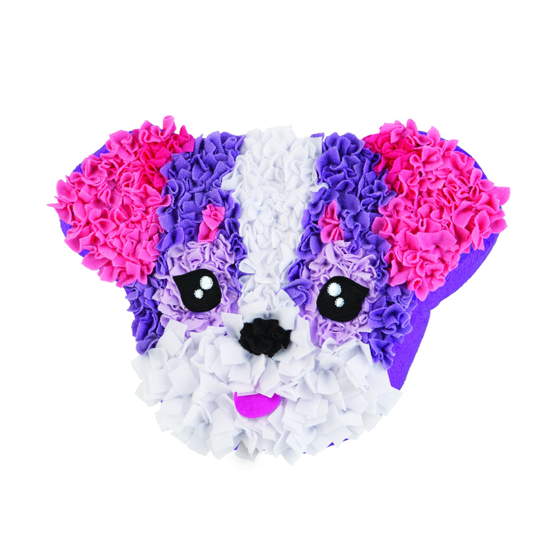 The Orb Factory PlushCraft Fabric By Number Kit, Puppy Love Pillow