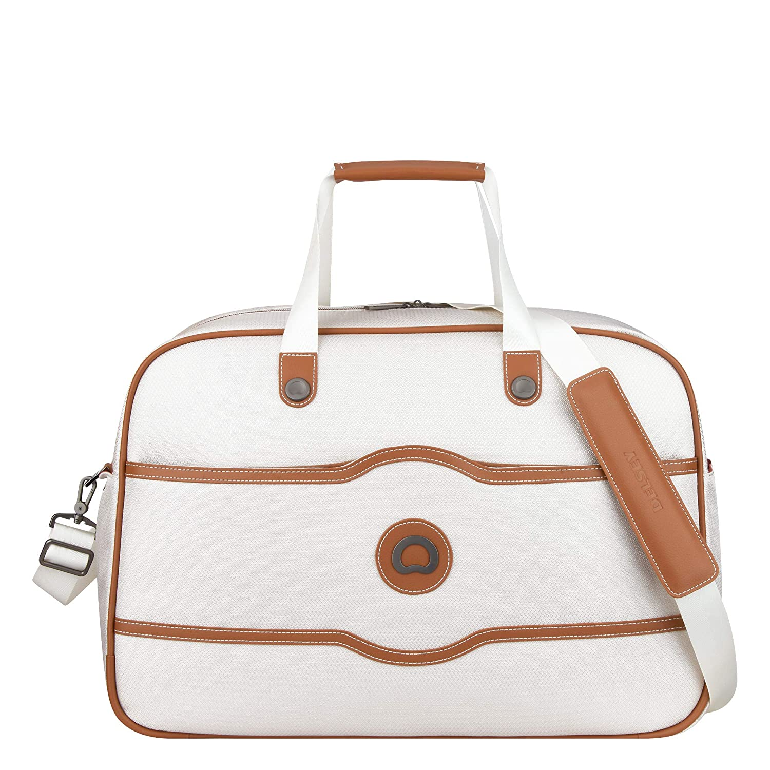 787b6e394 Amazon.com | DELSEY Paris Luggage Chatelet Soft Air Weekender Duffel,  Champagne, One Size | Travel Duffels