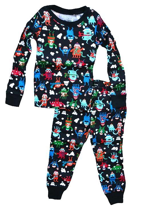 Boys 2-Piece Blue Great Catch Football Sleepwear Pajama Set