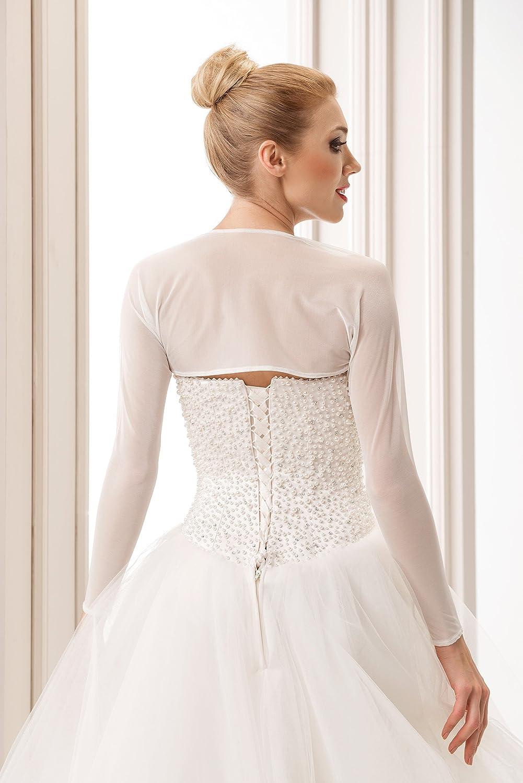 Semplice ed Elegante Coprispalle nuziale Stile Bolero da Sposa