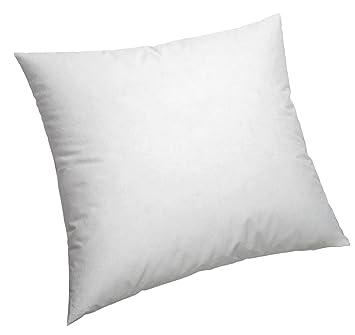 Pikolin Home Quadratisches Faser Kissen Und Bezug 100 Baumwolle Mittlere Festigkeit 70 X 70 Cm Höhe 16 Cm