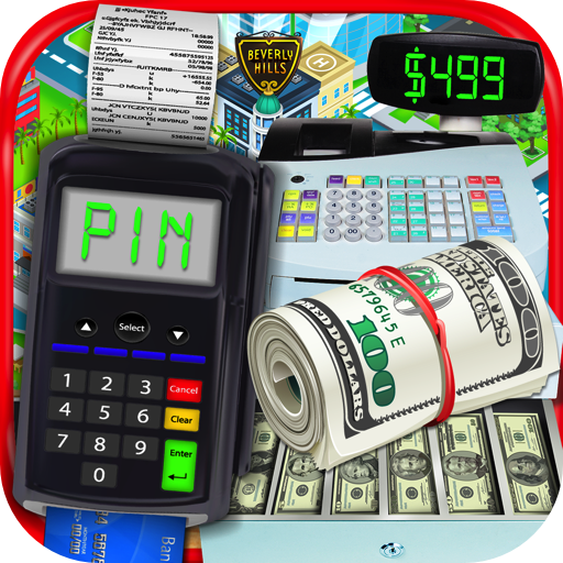 Credit Card & Shopping Games - Kids Money Learning Games, Credit Card & Shopper - Mall Rich