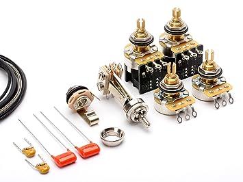 toneshaper guitar wiring kit for les paul standard push pull tone rh amazon co uk Telecaster ToneShaper For ToneShaper Stratocaster 1 S