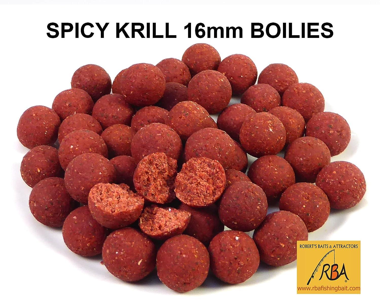 RBA Spicy Krill fresco para congelar 14 mm HNV Boilies con chiles ...