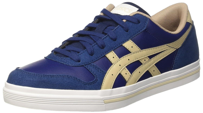 Asics Herren Aaron Sneaker, Grau  43.5 EU|Blau (Indigo Blue/Latte)