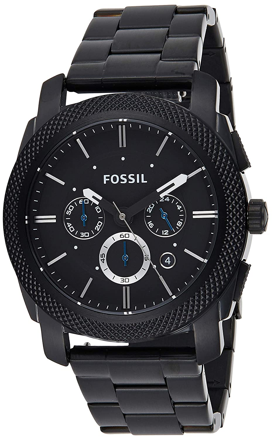 Buy Fossil Analog Black Dial Men's Watch - FS4552 at Amazon.in
