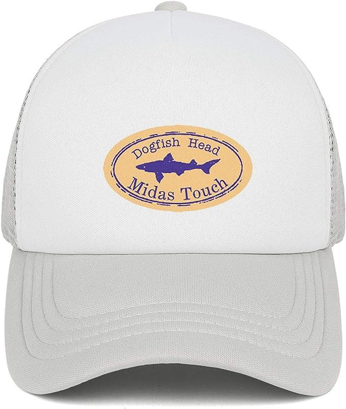 Dogfish Head Midas Touch Womens Men Mesh Trucker Cap Adjustable Snapback Sun Hat