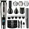 Brightup 11-in-1 Beard Trimmer Kit with LED Display