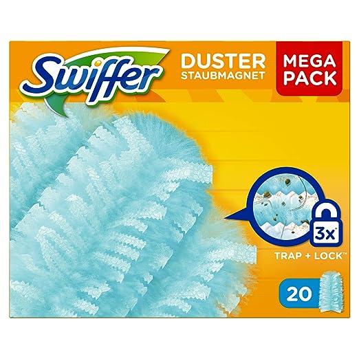 60 opinioni per Swiffer Duster Ricambi Spolverino, 20 Pezzi, 3 Confezioni