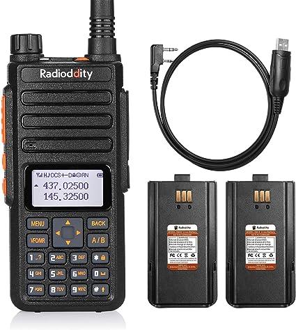 US Radioddity GA-5S Dual Band V//UHF Tri-Power Long Range Two way Radio /> BF-F8HP