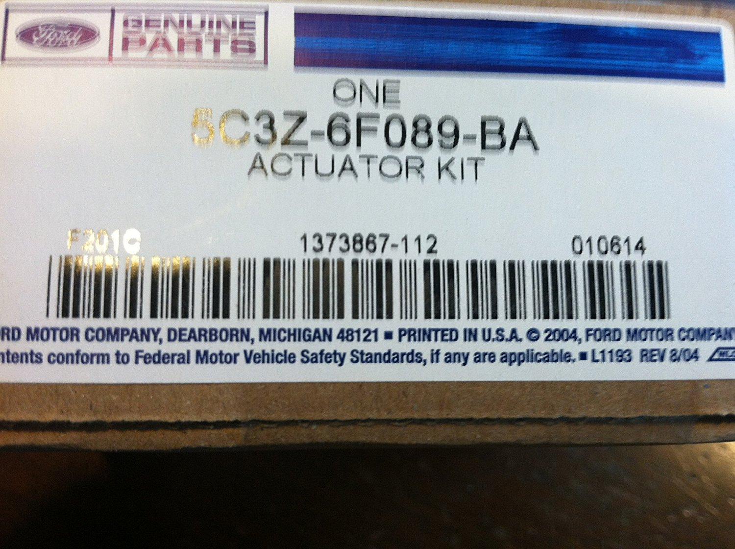 Ford 5c3z 6f089 Ba Actuator Asy 7 3 Powerstroke Wastegate Control Solenoid On 2002 Explorer