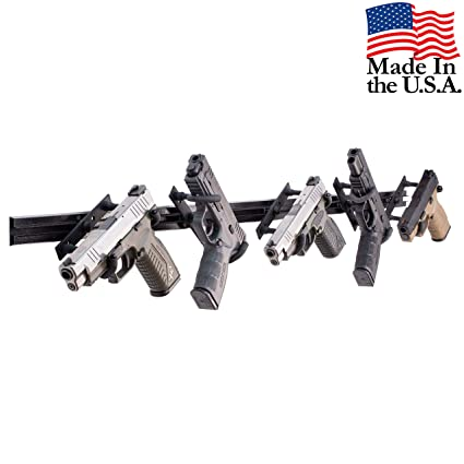 Amazon.com: Soporte de pared para 5 pistolas de pistolas y ...