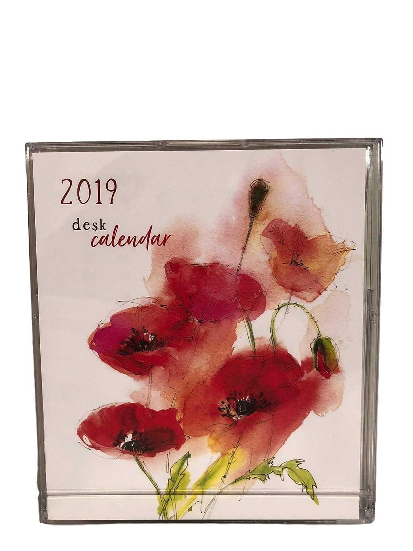Freedomのデスクカレンダー 2019年カレンダー - 2019年1月20日から12月2019年まで走る; ボーナスバンドル:ボールペン2本 修正テープ   B01CQ4KAGG